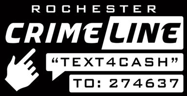 Rochester Crimeline logo